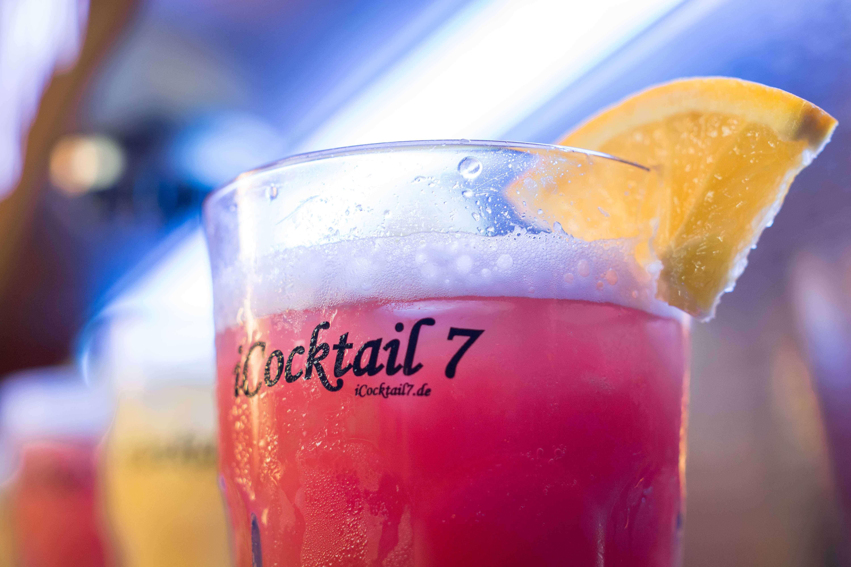 iCocktail7 Cocktailmaschine Gläser